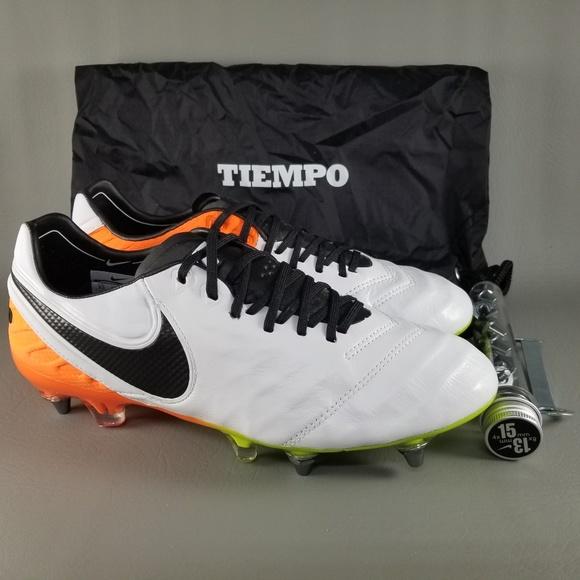 944a7cb9494 Nike Tiempo Legend VI SG-PRO Soccer Cleats Men 8.5